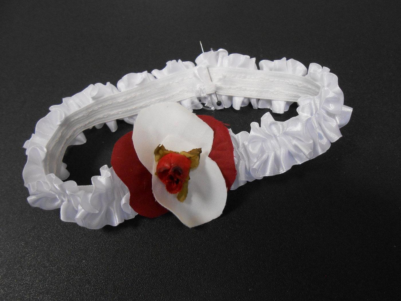 """Bandeau bébé avec des rubans souple ou élastique, personnalisé avec une fleur, confortable pour les """"petites-têtes"""""""