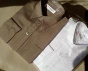 Chemisette manches courtes :Les chemisettes sont en qualité COTON (30%) mélangé POLYESTER ( 70%). Elles sont proposées ici dans certains coloris basiques comme : - BLANC - ECRU - CHOCOLAT