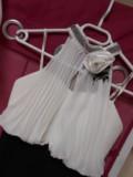 Robe Tour de Cou Buste plissé Exclusivité magasin