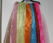 """ETOLE en VOILE d'ORGANZA pour finir d'harmoniser les tenues, dans un coloris """"raccord"""" avec le THEME choisi."""