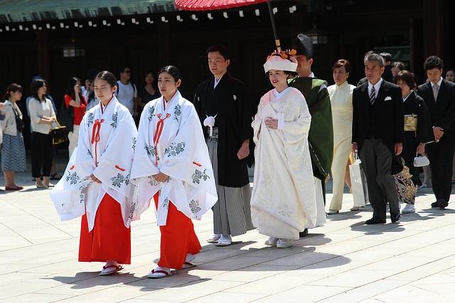 Traditions de mariage au Japon