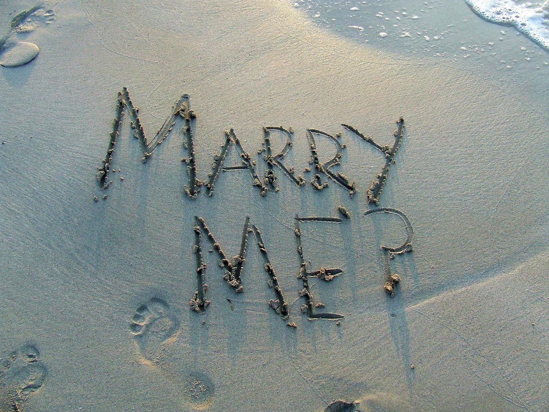 5 façons complètement folles de faire sa demande en mariage