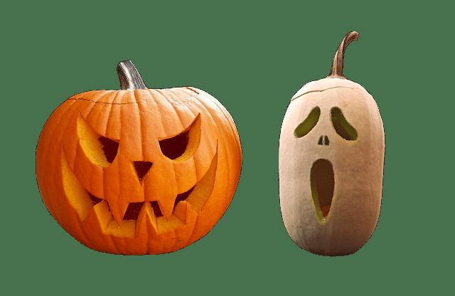 La citrouille à remplacer le navet et donner sa couleur orange à la fête d'halloween